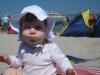 Elena am Strand