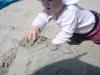 Elena und die Sandburg