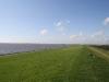 Deich und Nordsee