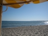 Strandkorb, Sand und Meer