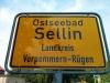 Ortsschild Sellin