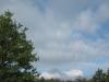 Fast blauer Himmel
