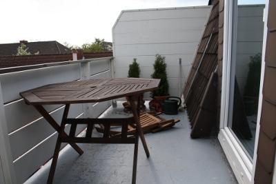 Balkon vor dem Tuning